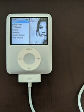 Working: Apple iPod Nano 3G 8GB MP3 Player Silver - A1236