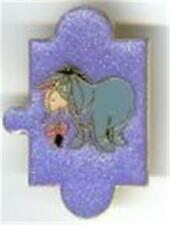 Eeyore Puzzle Piece Glitter Disney Pin