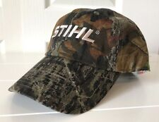Stihl Outfitters Camouflage Fabric Hat Cap