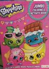 New Shopkins Jumbo Coloring and Activity Book 96 pages full of games and more