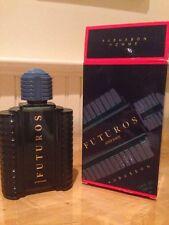 Aubusson Homme Futuros Aftershave 3.4 fl oz Men's Splash Glass Bottle NIB France