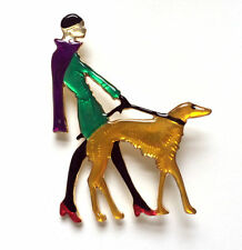 Enamel Costume Brooches & Pins