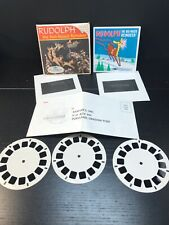 Vintage 1960s GAF SAWYERS View-Master RUDOLPH the RED-NOSED REINDEER  B870