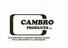 Cambro 4596H Rear Left Rebuilt Brake Caliper With Hardware