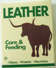 Lazarus Leather Care & Feeding Cleans Protects Nourishes