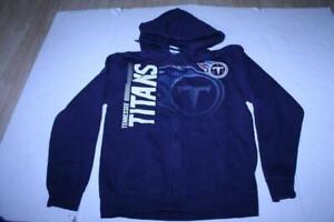 Men's Tennessee Titans S Jacket Hoodie Hooded Sweatshirt Majestic