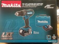 Makita XPH102 18V LXT Lithium-Ion Cordless 1/2 Hammer Driver-Drill Kit FAST&NEW