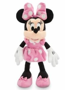 Disney Mickey Mouse & Friends Minnie Mouse small 14'' Plush Pink Disney Store