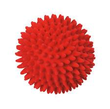 Karlie Latex Igelball Latexspielzeug für Hunde 9 cm rot