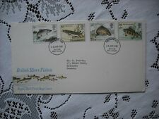 GB  ROYAL MAIL 1983 FDC -  BRITISH RIVER FISHES