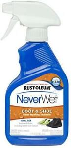 Rust-Oleum 280886 NeverWet 11-Ounce Boot and Shoe Spray, Clear, New