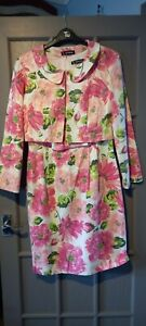 KALEIDOSCOPE Gorgeous Floral Dress Suit - Wedding, Size 12/14