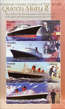 Grenada 2004 MNH Famous Ocean Liners of World Queen Mary 2 4v M/S Ships Stamps