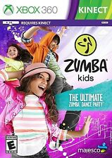 XBOX 360 DANCING GAME ZUMBA KIDS BRAND NEW & FACTORY SEALED
