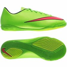 Nike Jr Mercurial Victory V IC Soccer Shoes Sz 1.5Y 651639 360 Electric Green