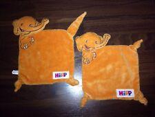 1 pezzi-Pupazzetto Pupazzetto Schnuffel Hipp alimenti per bambini Elefante ARANCIONE Knot
