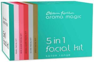 Aroma Magic Five In One Facial Kit For All Skin Types-ejZ