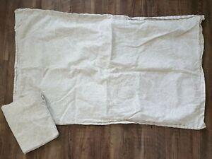 Ralph Lauren Paisley King Pillowcases Pair, Off White & Tan - Set of (2)