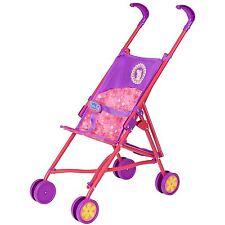 Peppa Pig Stroller - Kids Children's Toy Pushchair Doll's Pram, Foldable - Pink