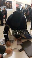 Enzo Decaro Foto autografata Signed Autografo Attore Italian Actor Cinema
