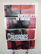 Crusades DC Vertigo Comic Book Promo Poster Seagle Kelley Jones Art