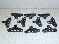 LEGO® Technic 10x Triangel Lochplatte in Schwarz 2905 Lochplatte Verbinder T04
