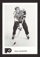 Paul Holmgren Vintage Philadelphia Flyers Hockey Postcard