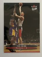 2003-04 Fleer Ultra Houston Rockets HOF Yao Ming Card #1