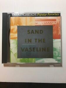 Talking Heads Popular Favorites Sand in the Vaseline **Disc 1 Only** 18 Tracks