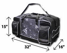 Massive Gear Bag Black-Off-road/Dirt Bike Luggage/Enduro/Sports/MX/Motocross/DH