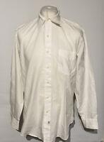 "POLO Ralph Lauren Men's Shirt 16.5"" 34/35 White ANDREW 100% Cotton"