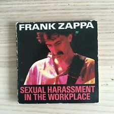 """Frank Zappa - Sexual Harassment in the Workplace -  mini CD 3"""" - Ryko 1988"""