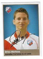 AH 2009/2010 Panini Like sticker #224 Dries Mertens FC Utrecht ROOKIE RC