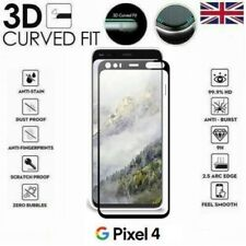 For Google Pixel 4 Full Coverage 3D Tempered Glass 9H Screen Protector Cover
