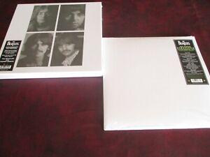 BEATLES WHITE ALBUM 2012 STEREO LP + DELUXE EDITION STEREO 4 LPS COMPARISON SET