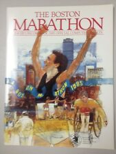 UNREAD 1985 BOSTON MARATHON RACER'S RECORDBOOK OFFICIAL COMPUTER RESULTS