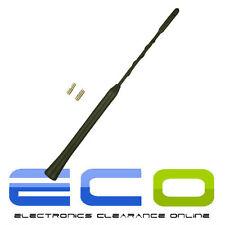 28cm TOYOTA YARIS Black Beesting Whip Mast Car Roof Mount Aerial Antenna