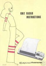 Knit Radar - Knit Contour Instruction Manual