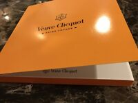 Veuve Clicquot Champagne VCP New Collectible NOTE PAPER PAD **FREE SHIPPING**