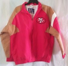 NOS Vtg.San Francisco 49ers NFL Apex One Full Zip Lined Jacket - Size L