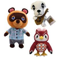 Animal Crossing Celeste Tom Nook KK Slider Plush Stuffed Doll Kids Birthday Gift