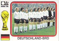 Panini - World Cup Story - West Germany 1974 - Team Photo - West Germany - # 67