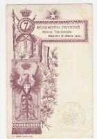Italy, Reggimento Fanteria Milizia Territoriale Postcard, B127