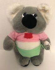 1991 Down Under Orphans Bluey Koala Bear Toys Around The World Plush Vintage E5