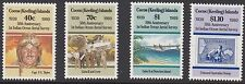 Cocos (Keeling) Isole:1989 Aerial indicatori Set SG 207-10 never-hinged MINT