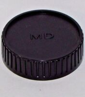 Rear Lens Cap MD MC SRT Minolta manual focus lenses