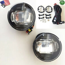For 2007-2012 Nissan Sentra SE-R SER with Wire Switch LED DRL Fog Light White