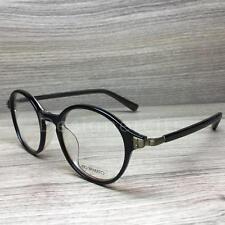 Kio Yamato Eyewear KP 112 KP-112 Black Brown 03 Authentic 47mm