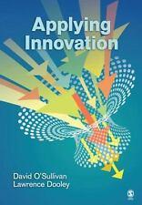 Applying Innovation, Dooley, Lawrence,O′Sullivan, David, Good Condition,