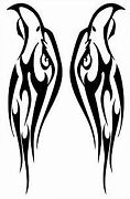 Tattoo(silver)-Car Window Windscreen Body Panel Bumper Decal Vinyl Sticker